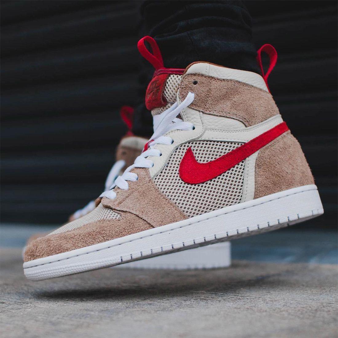 Customiser Makes 'Mars Yard' Air Jordan