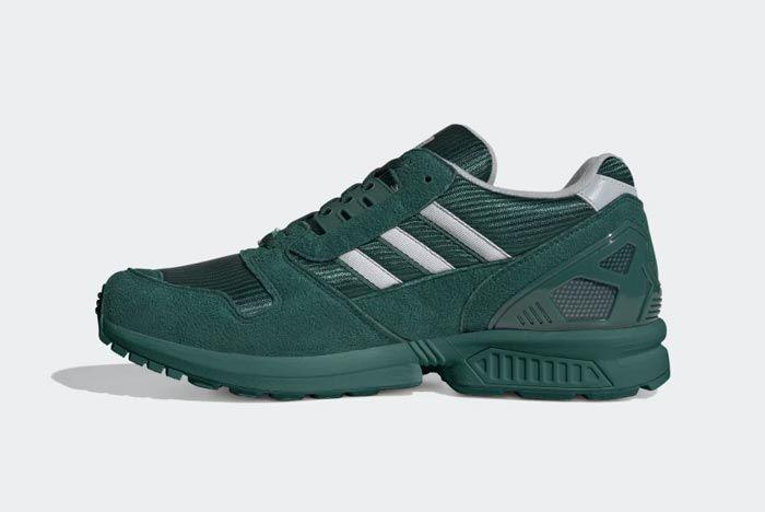 Adidas Zx 8000 Collegiate Green Medial