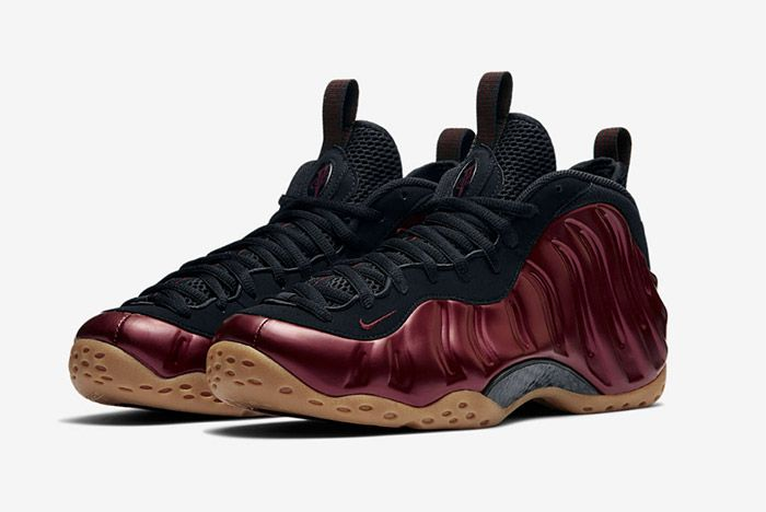 Nike Air Foamposite One Night Maroon 1