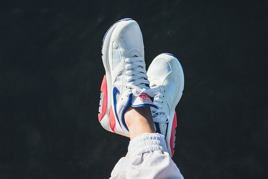 Nikeair Max 180 2018 Ultramarine On Foot 2