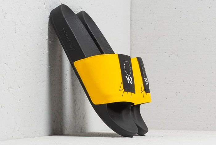 Adidas Y 3 Adillete Yellow Right