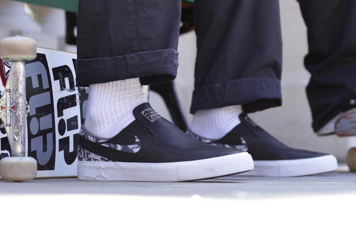 Nike Sb Zoom Janoski Slip Rm Matriz On Foot