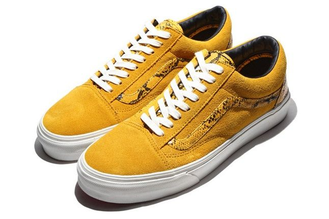 Vans Old Skool Year Of The Snake Yellow 1