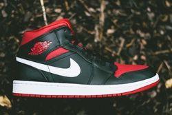 Air Jordan 1 Black Gymred Bumper Thumb