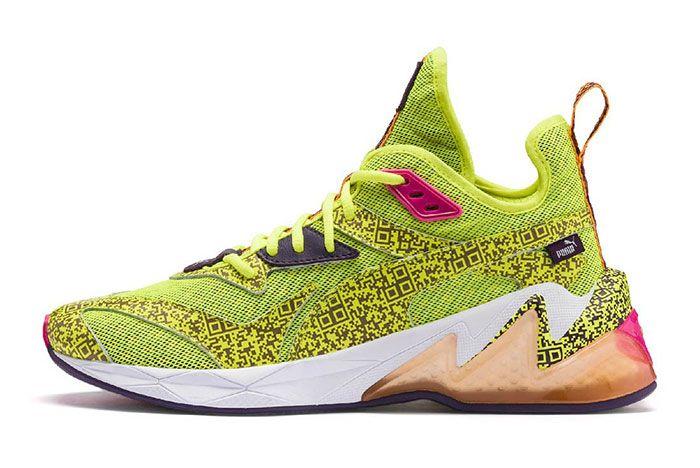 Puma Lqd Cell Ar Yellow Side 2