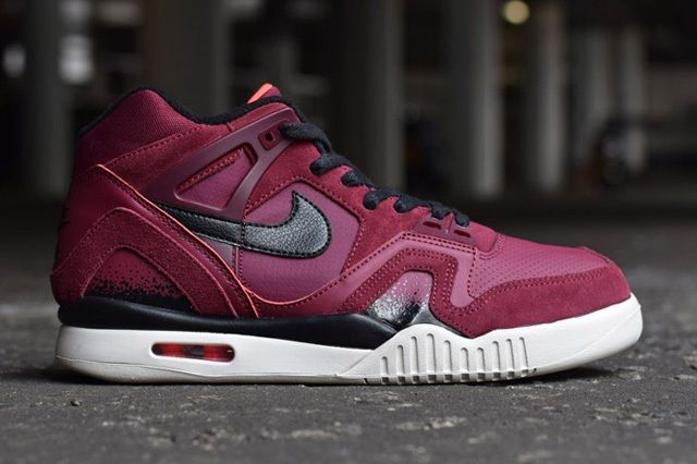 Nike Air Tech Challenge Ii Burgundy Navy Releases 6