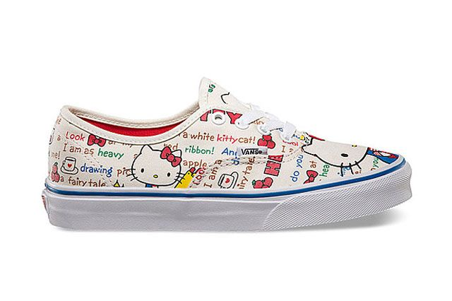 Hello Kitty X Vans Summer 2014 Collection Authentic 1