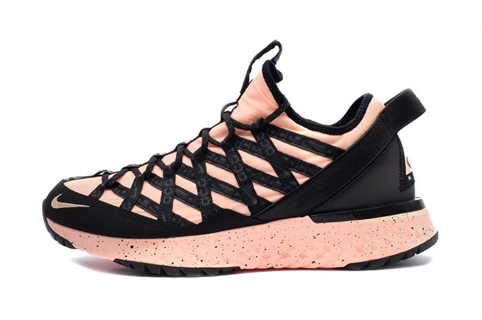 Nike Acg React Terra Gobe Rose Bv6344 800 Release Date Lateral