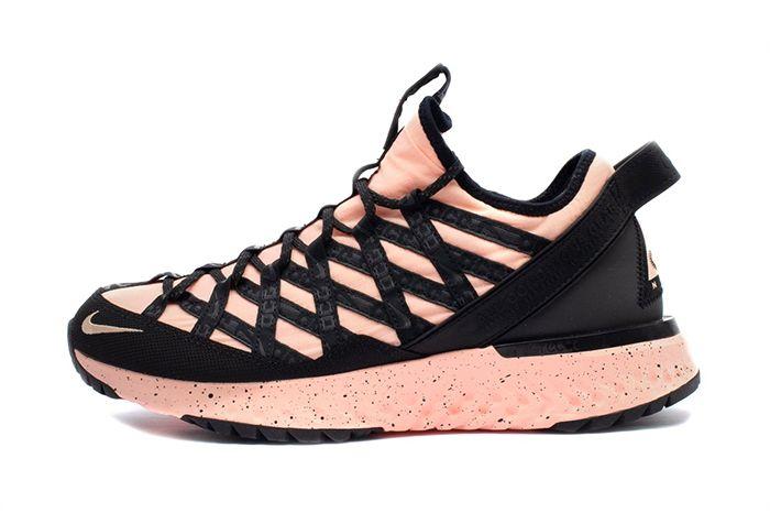 Nike Acg React Terra Gobe Rose Bv6344 800 Release Date Lateral