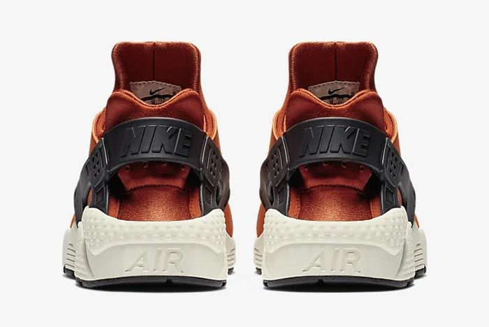 Nike Air Huarache Campfire Orange Heels