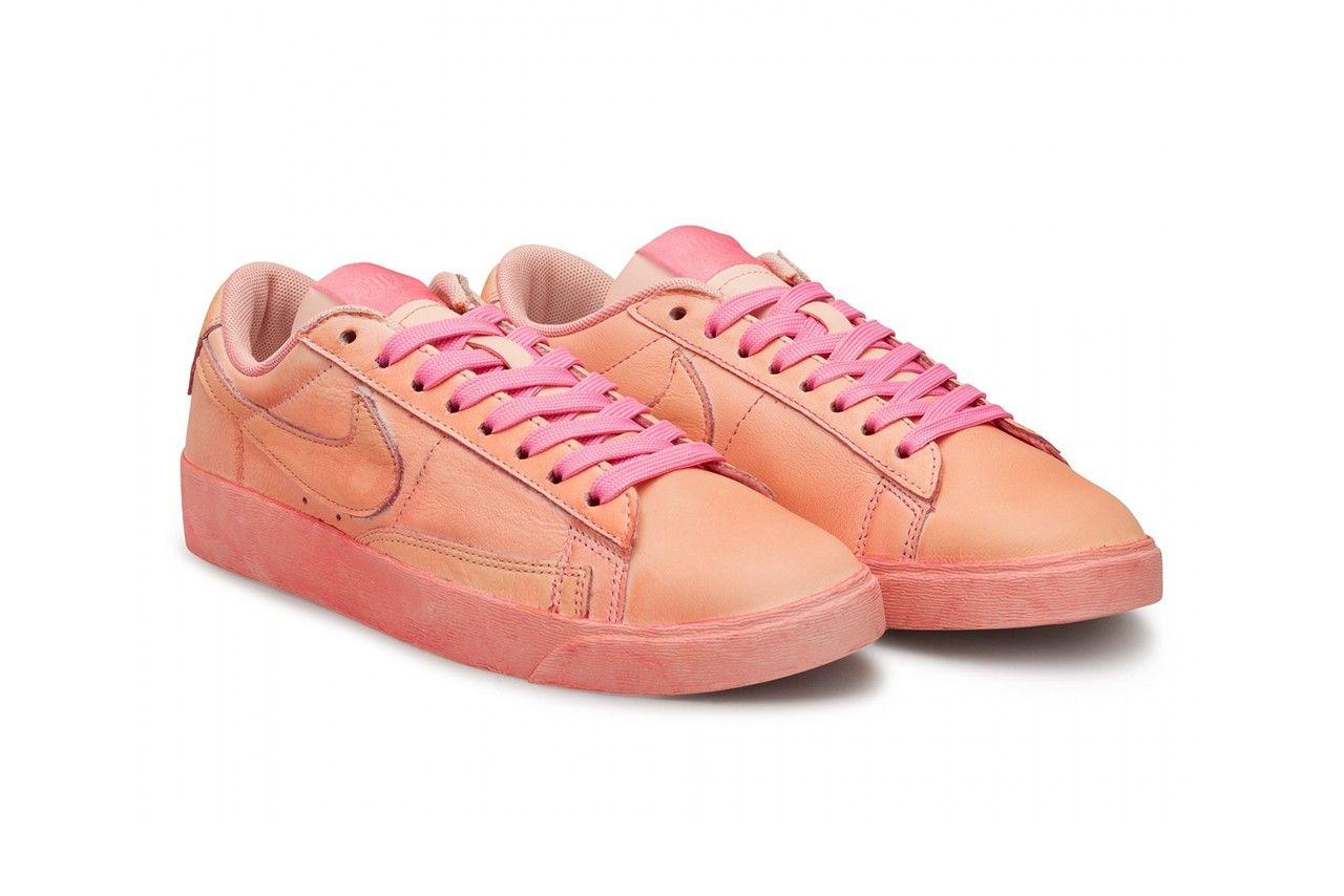 Comme des Garçons Nike Blazer Low Angled