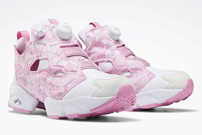 Reebok Instapump Fury Pink Eh0971 Front Angle