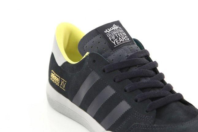 Dqm Cliche Skateboards Lucas Pro Black Yellow Heel 1