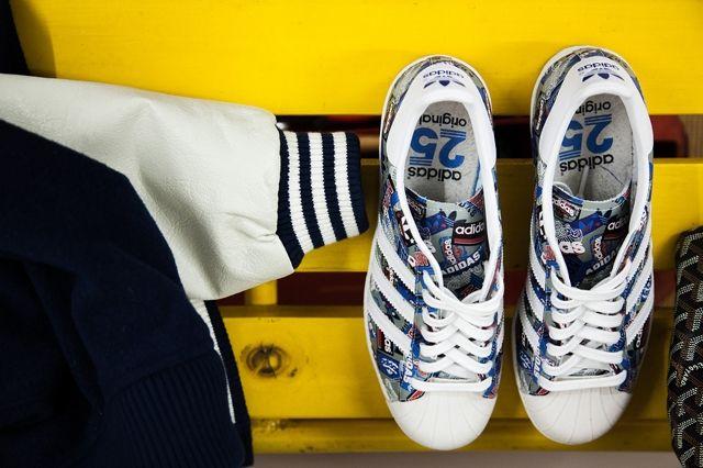 Adidas Originals Superstar 80S By Nigo 3