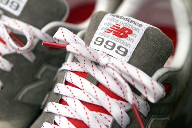 New Balance 99 Elite Edt Red Tongue Detail 1