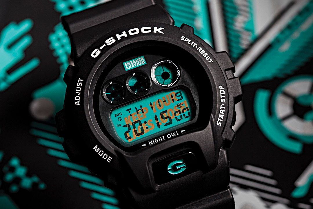 Sneaker Freaker x G-SHOCK DW-6900 'Nightowl'