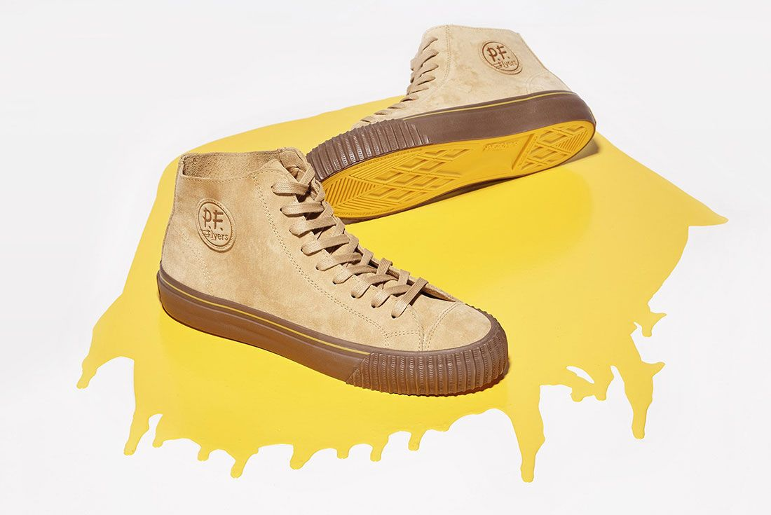 Universal Works Pf Flyers Brown
