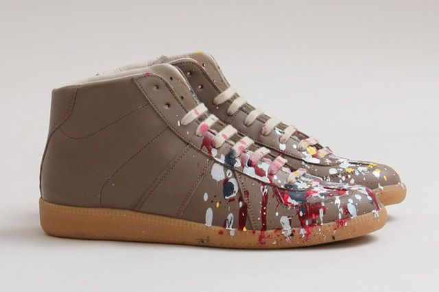 Maison Martin Margiela Paint Splatter Replica High Top Thumb