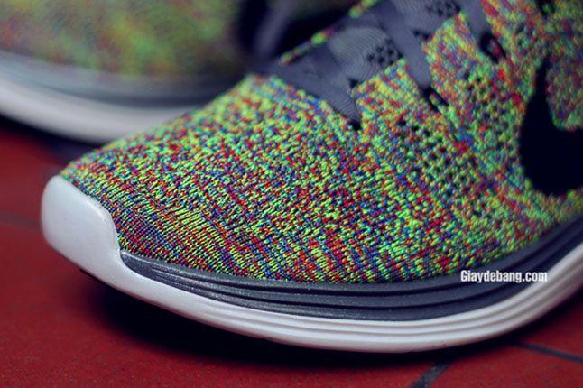 Nike Lunar Flyknit One Multi Color Toe Detail 1