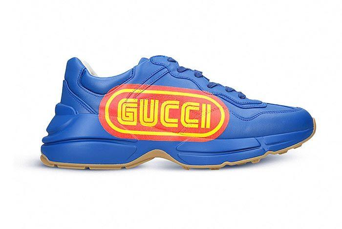 Gucci Rhyton Blue Sega 2