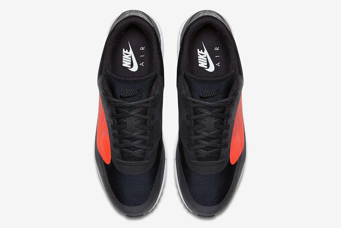 Nike Air Max 90 Big Logo Infrared Black Sneaker Freaker 4