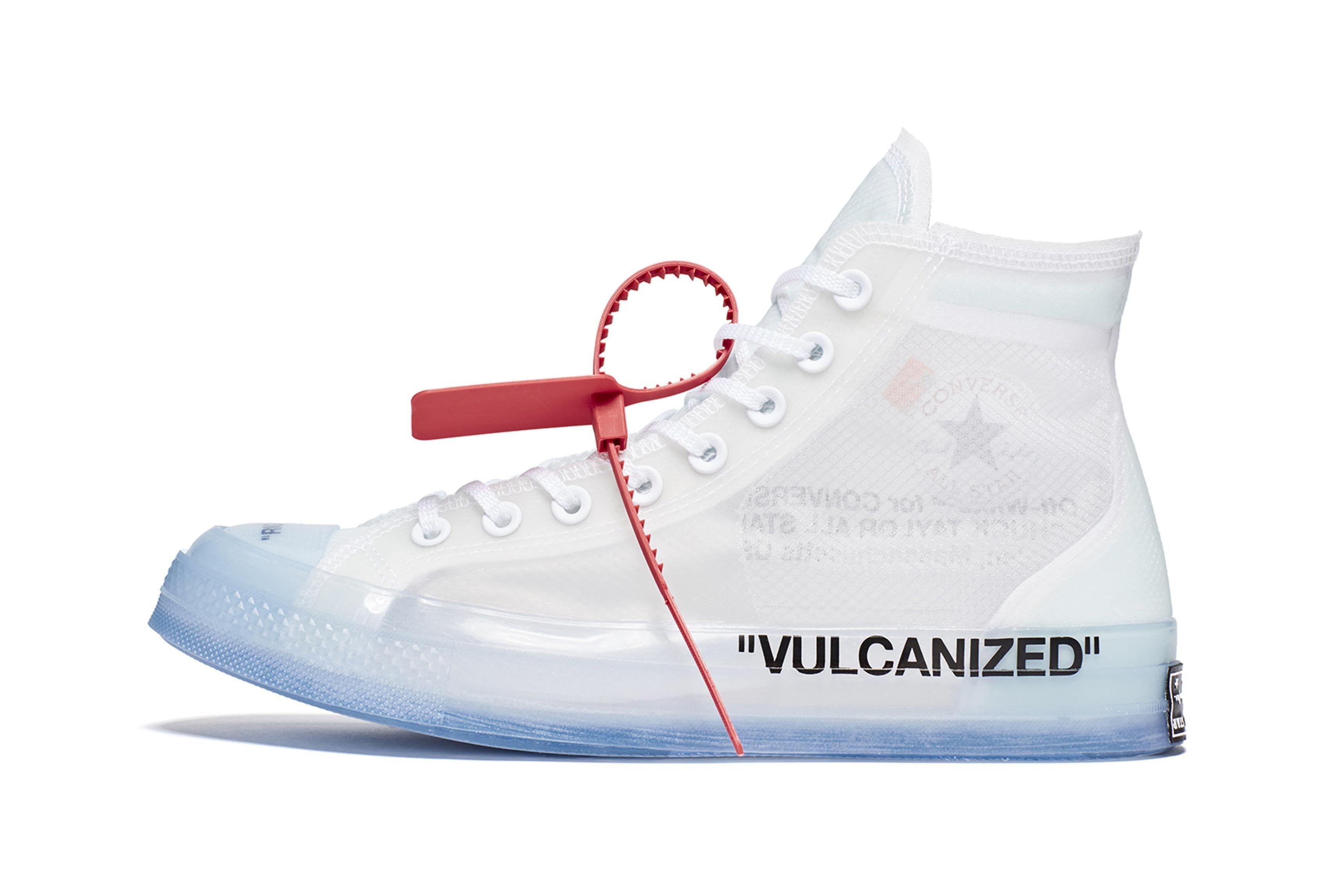 Converse Virgil Abloh Chuck 70 The Ten Release 3 Sneaker Freaker
