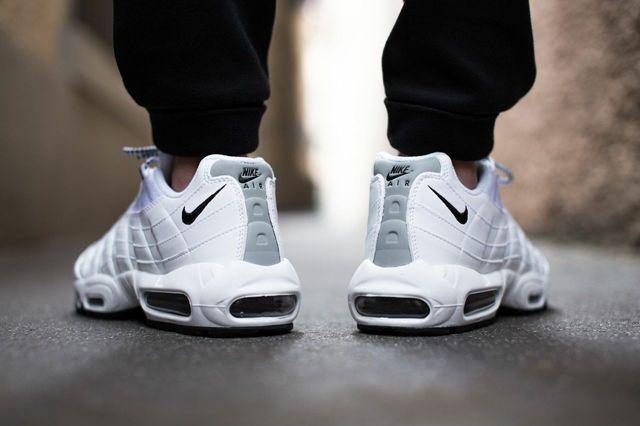Nike Air Max 95 Pure White Black 1