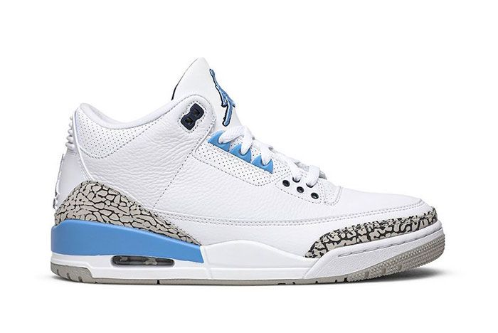 Air Jordan 3 Unc Right 2
