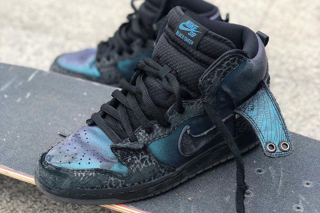 Nike Sb Blacksheep Skateshop Skated Pair