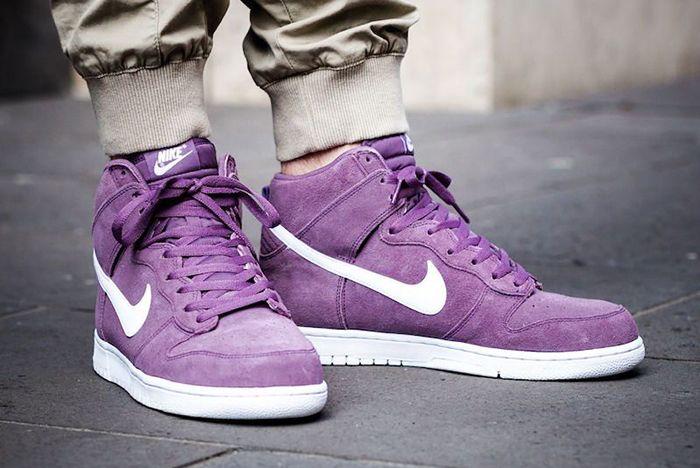 Nike Dunk High Violet Dust2