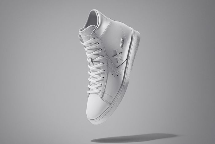 Converse All Star Pack Pro Leather White High Top 1 V1 £75