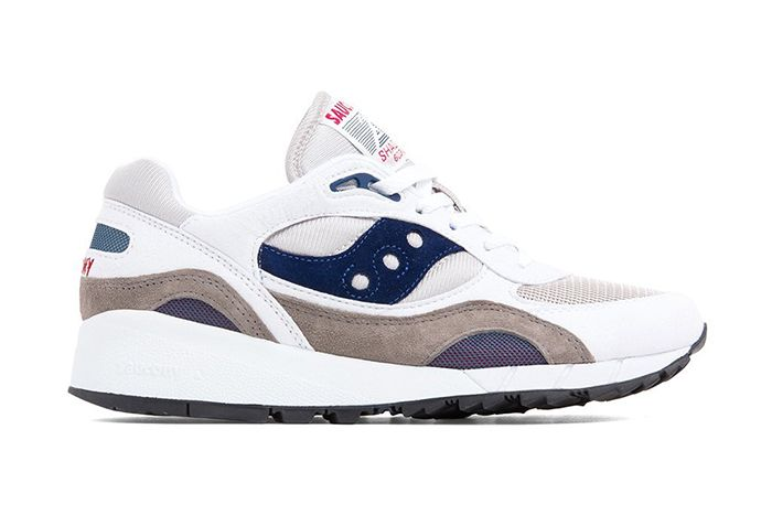 Saucony Shadow 6000 Grey Navy S70441 Releae Date Lateral