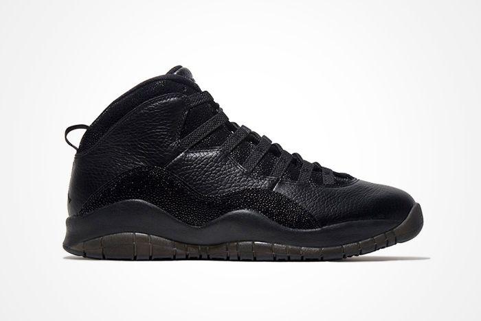 Drake X Air Jordan 10 Ovo Black Stingray4