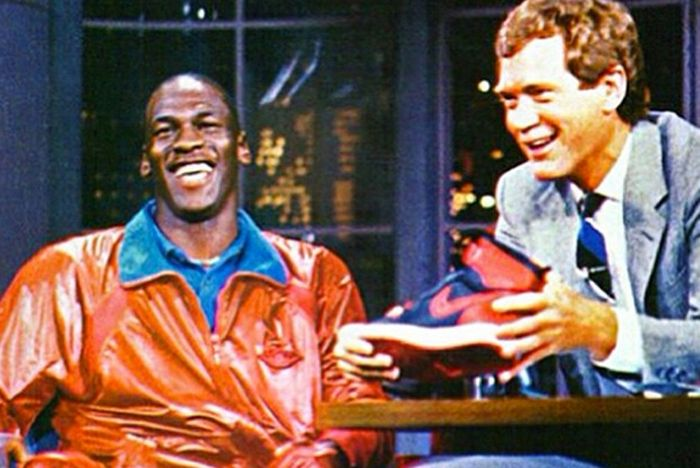 Michael Jordan David Letterman Air Jordan 1