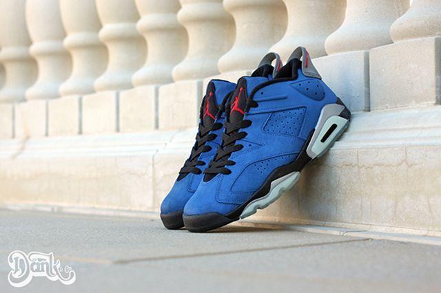 Air Jordan 6 Low Eminem Customs 2