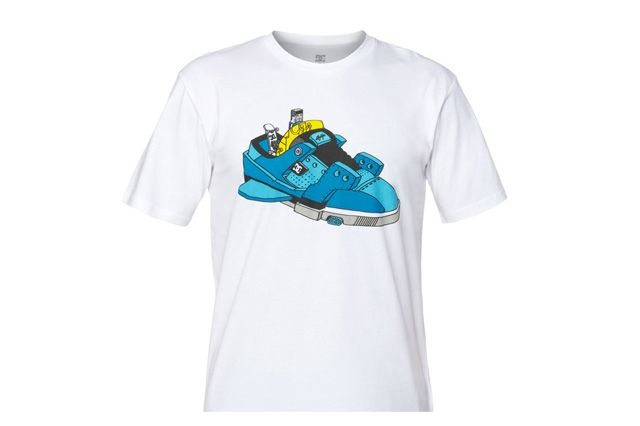 Ghica Popa For Dc Shoes Tshirt Series 10