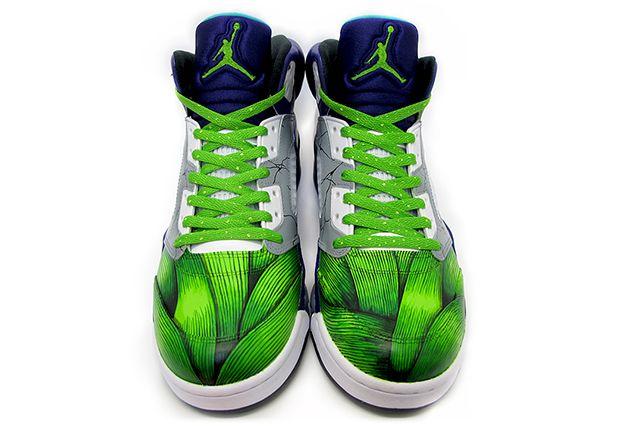 Sekure D Air Smash Jordan 5 Custom 4