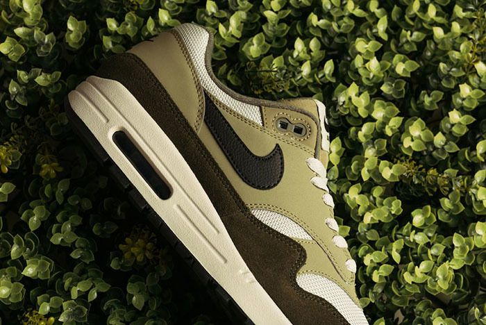 Nike Air Max 1 Medium Olive Canvas 2