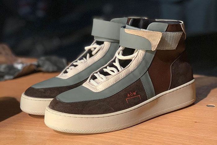 A Cold Wall Converse 2019 Collection Brown Sneaker