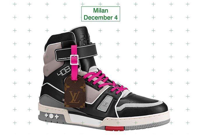 Virgil Abloh Louis Vuitton Lv408 Milan