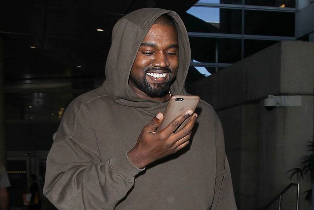 Kanye West Cell Phone