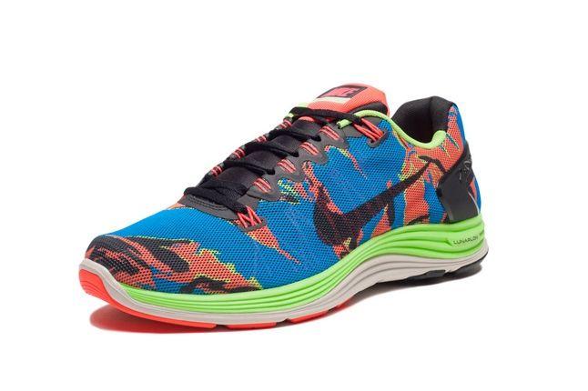 Nike Lunarglide5 Tiger Reef Toe Quarter