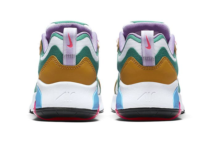 Nike Air Max 200 Mystic Green At6175 300 Release Date Heel