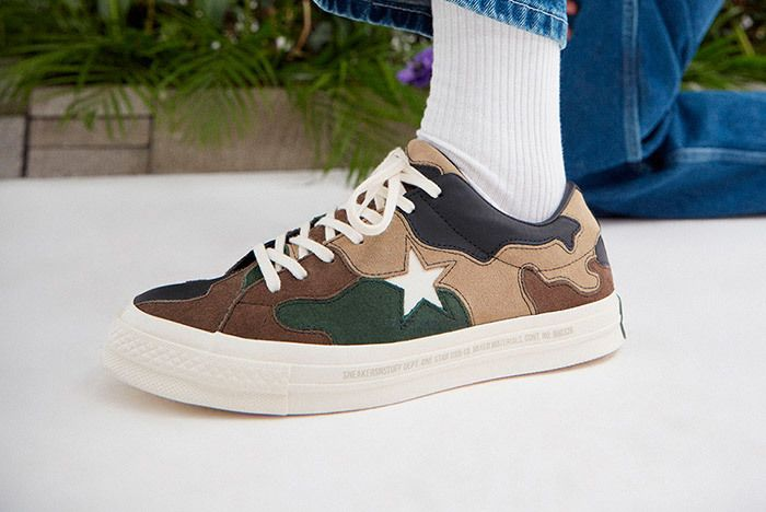 Sneakersnstuff Converse One Star Camo 2