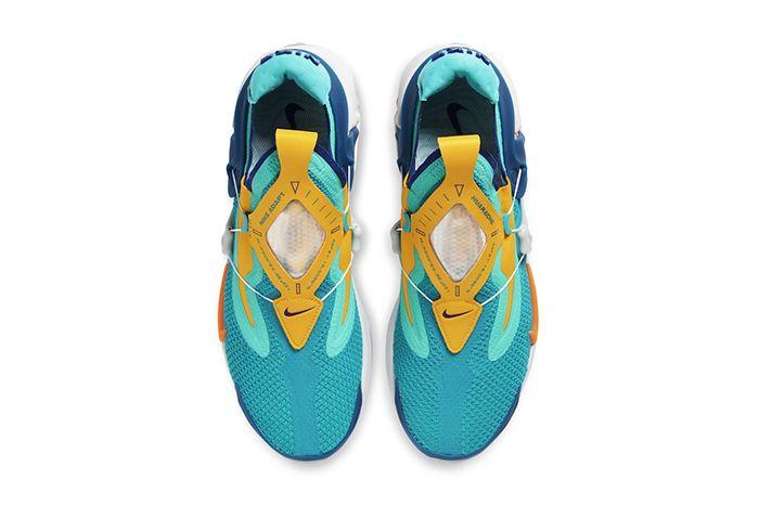 Nike Adapt Huarache Teal Leak First Look Release Date Top Down