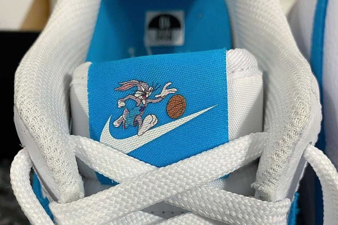space jam nike air force 1 'hare'