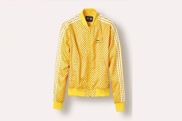 Adidas Pw Superstar Track Jacket Yellow Z97397