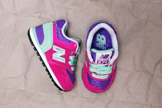 New Balance Toddler 574 Hologram Pack 4