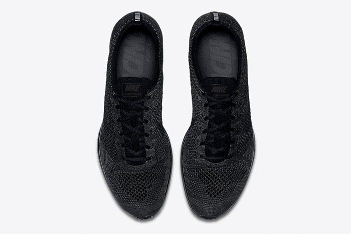 Nike Flyknit Racer Triple Black Restock 5