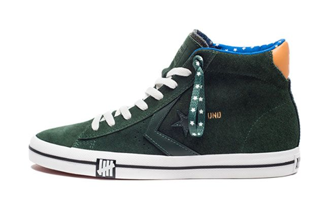 Undefeated Converse Born Not Made Collection Pro Leather Mid 1